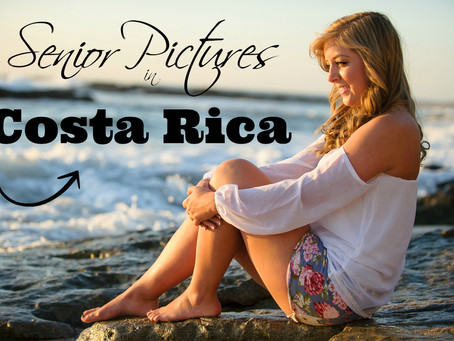 Tips for STUNNING Senior Pictures in Costa Rica