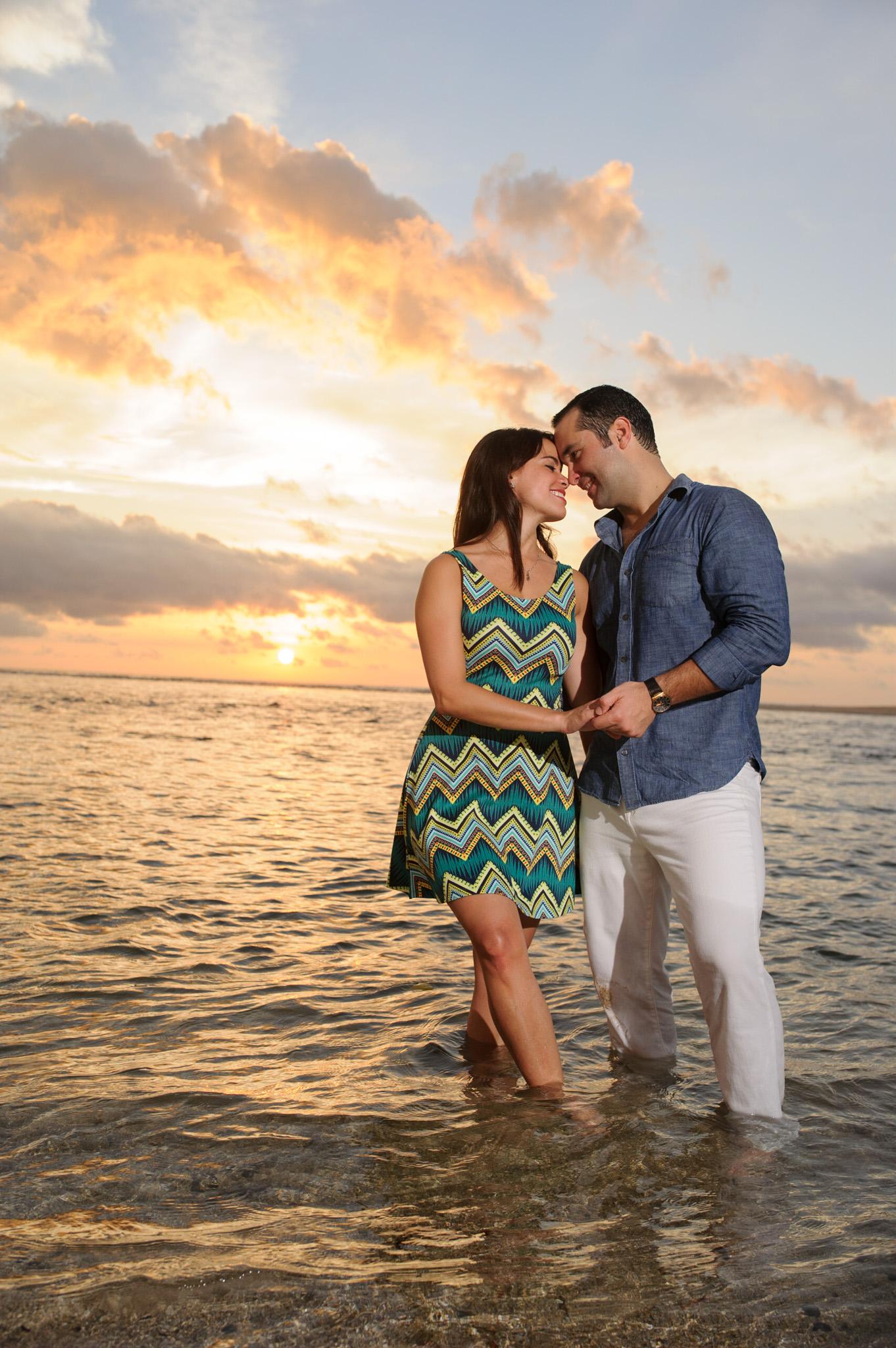 Engagement travel photos costa rica
