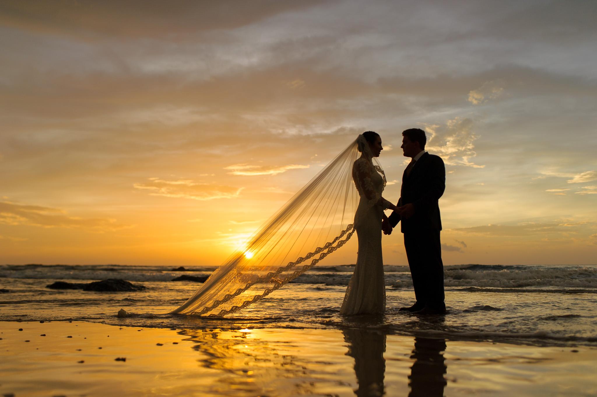 Travel wedding beach pics costa rica