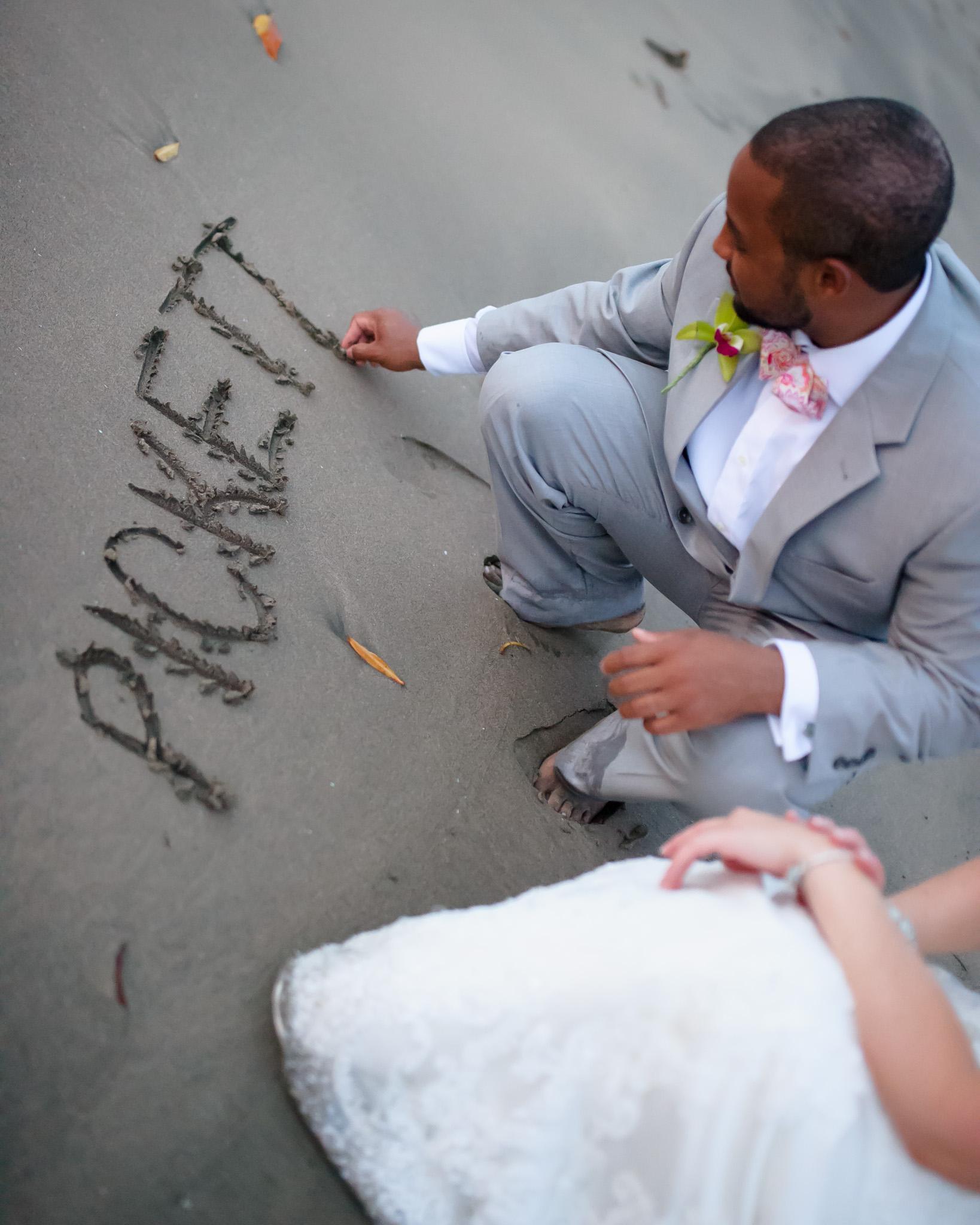 Small wedding photographer CR