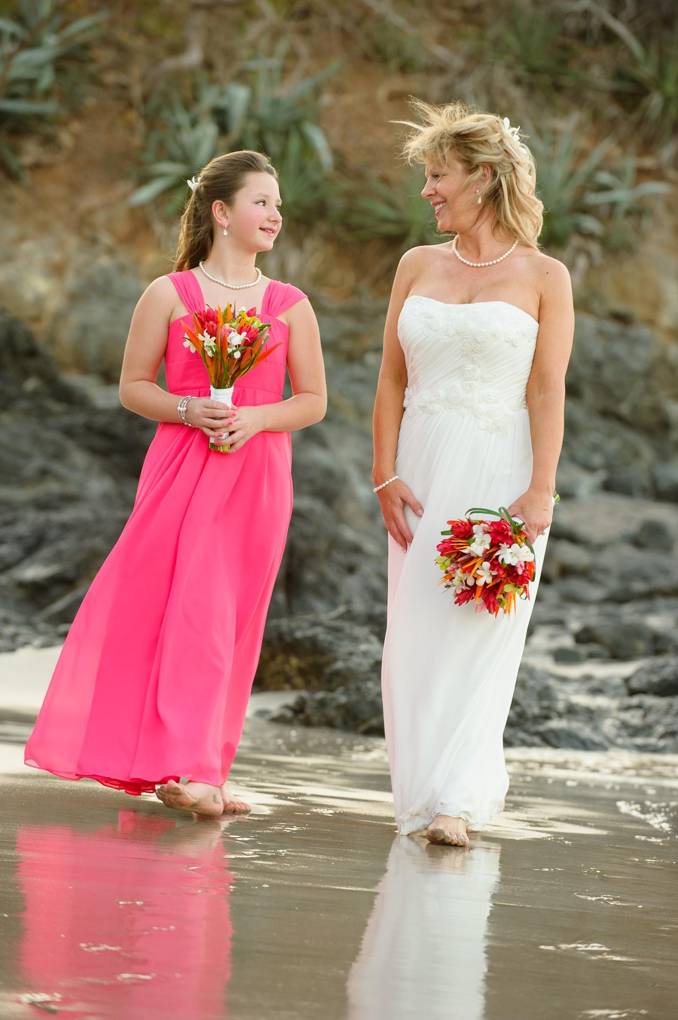Flamingo Beach Wedding Photos