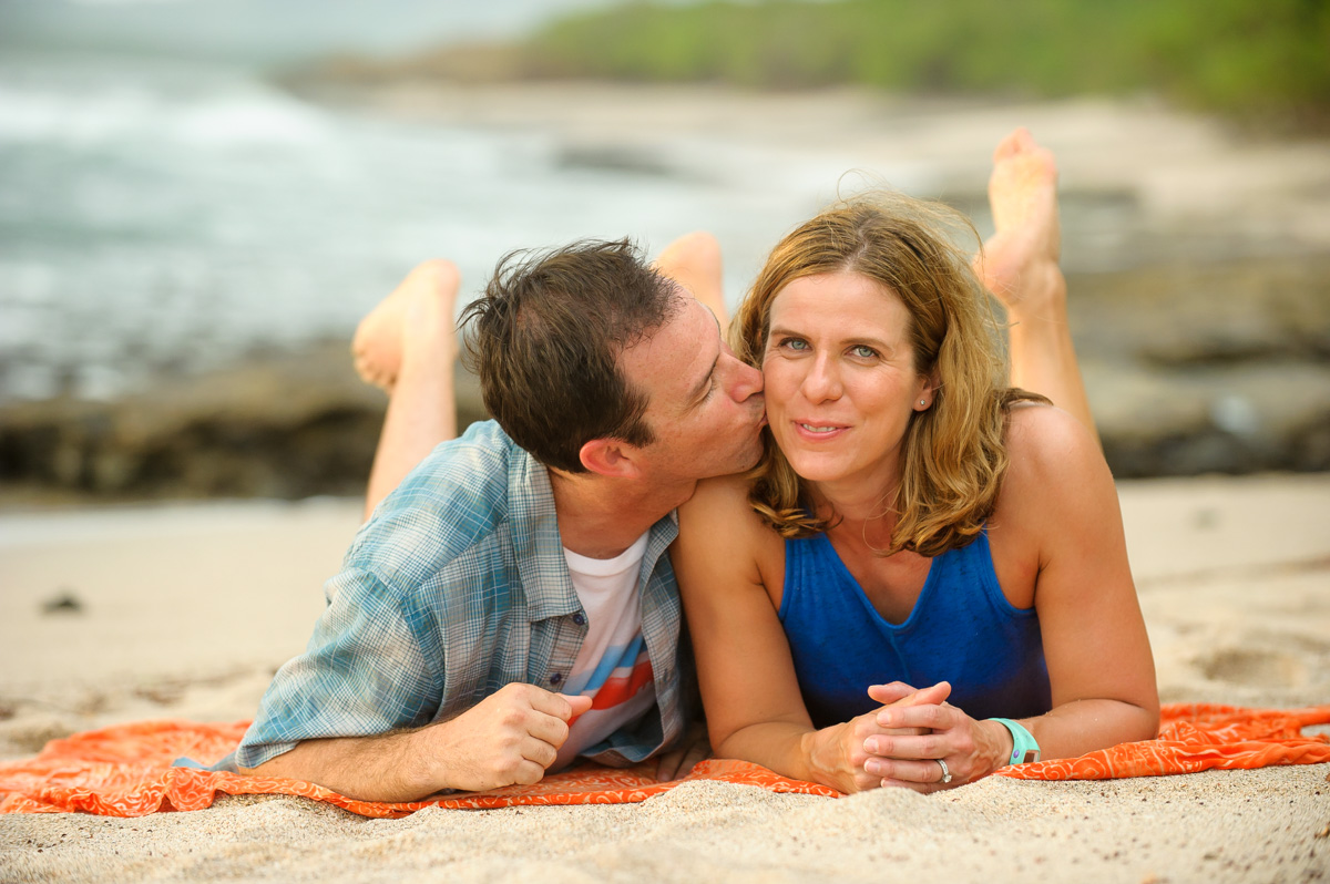 Costa Rica beach couples photos