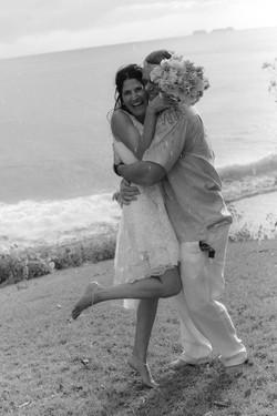 Sugar Beach elopement, Costa Rica
