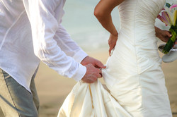 Tamarindo beach elopement