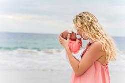 Costa Rica newborn photo session