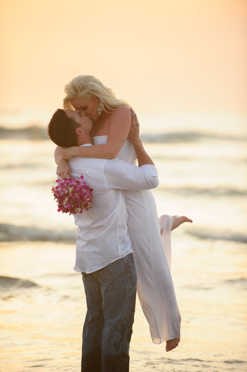 Hiring a photographer for an elopement in Costa Rica