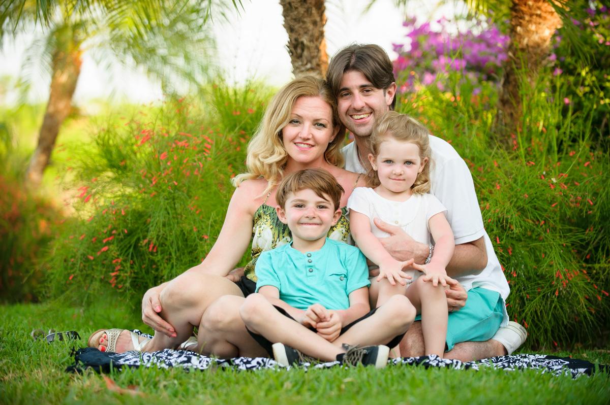 Family photographer Hacienda Pinilla