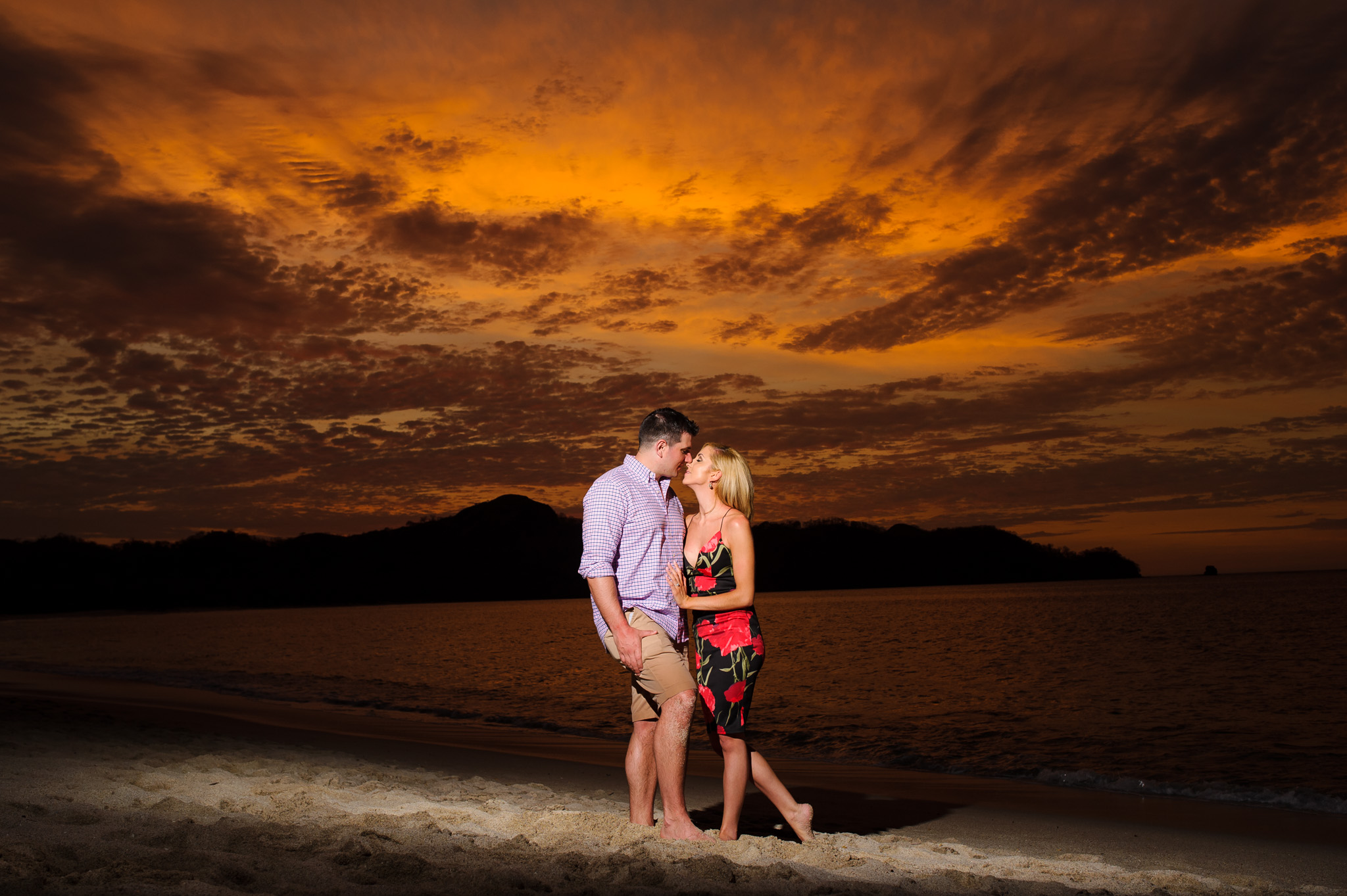 Conchal Costa Rica Engagement Photographer