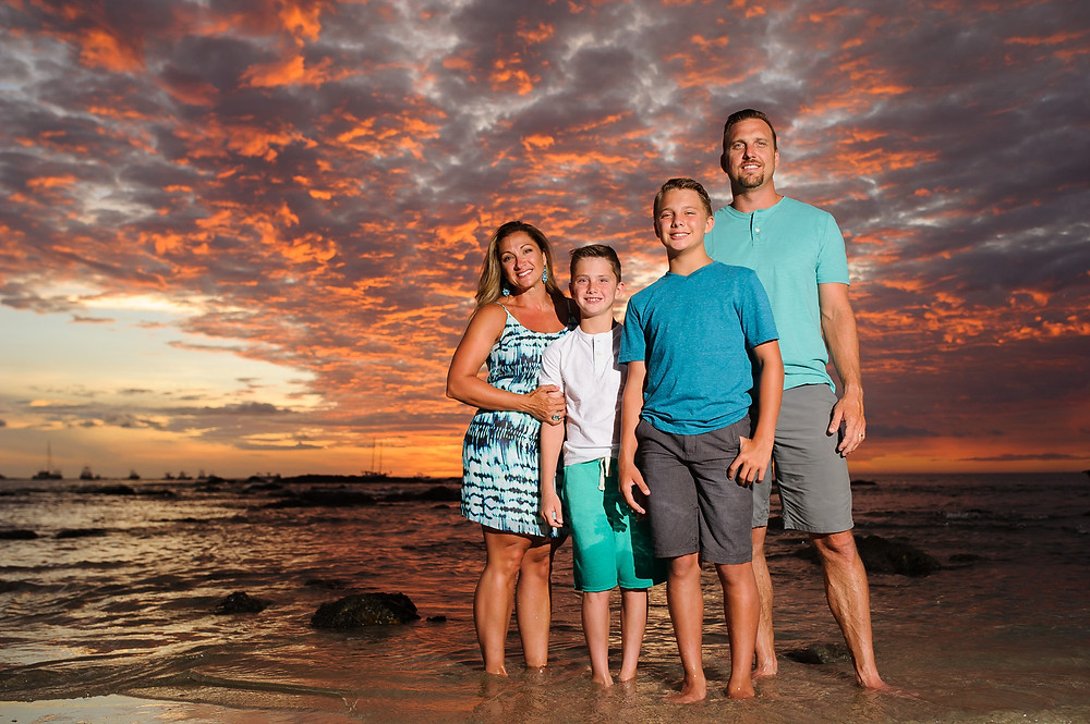 What to wear for family portraits in Costa Rica