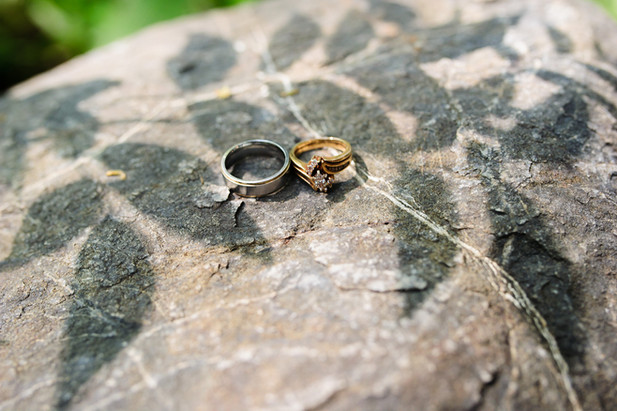 Costa Rica wedding details: ring shot