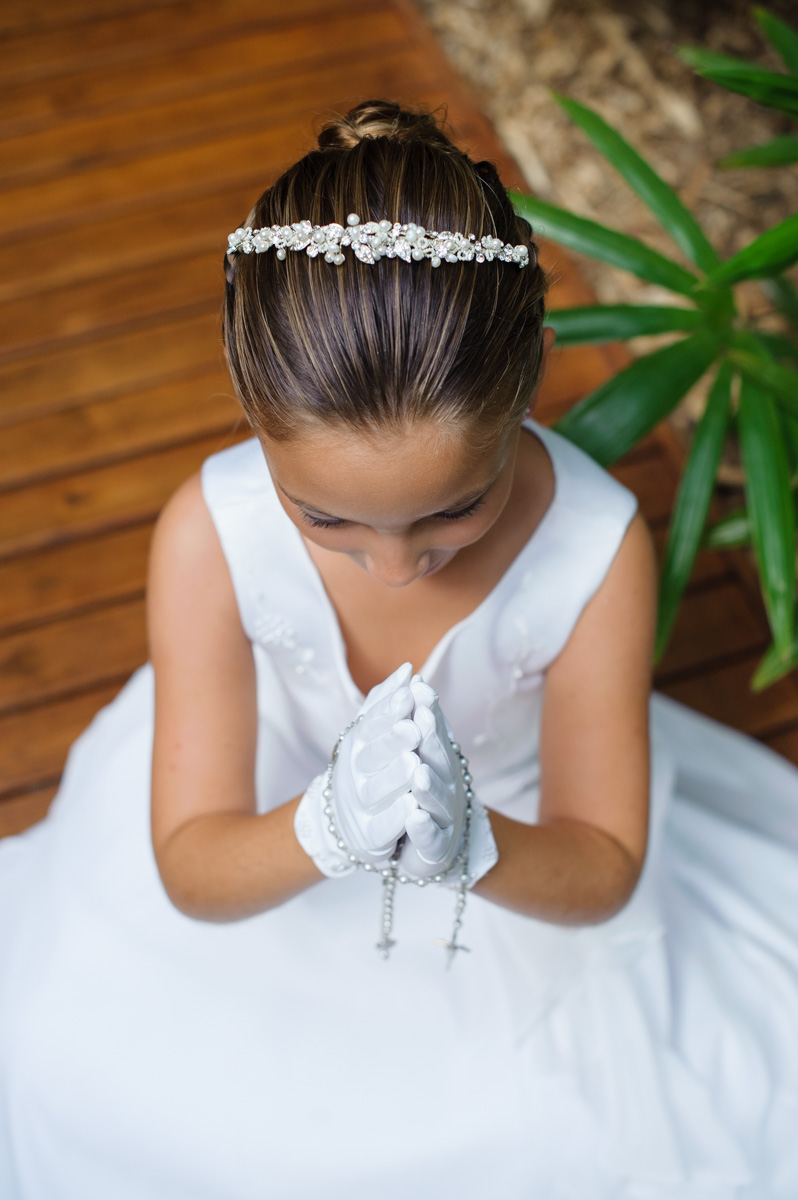 First Communion Church Photography