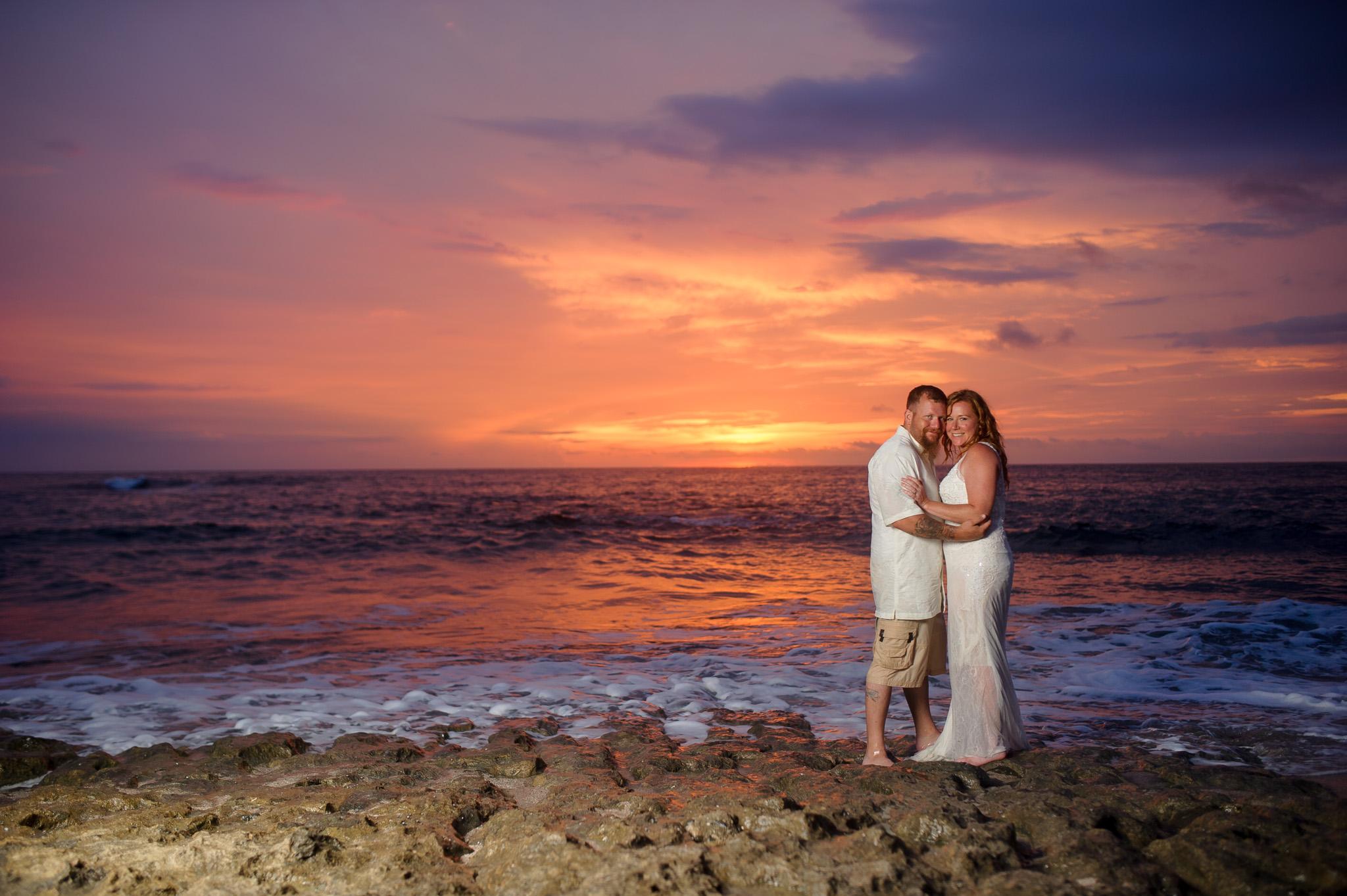 sunset costa rica photography love