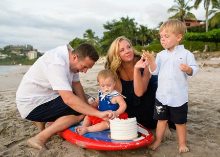 Birthday cake smash Costa Rica