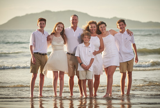 Villa Morabeza Family Photos Sunset Large Groups