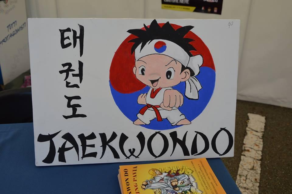 taekwondo su tela