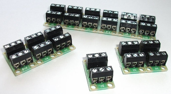 MR230 6 x 3way Screw Terminal Junction Board