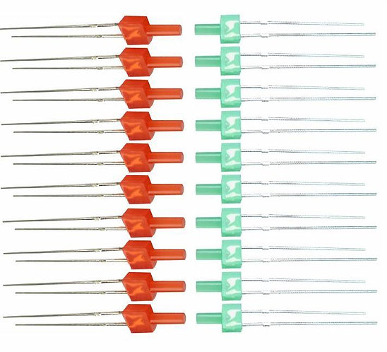 MK200 Control Panel Indicator Kit with 2mm Tower Red & Green LED's
