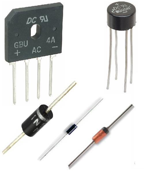 A Selection of Diodes & Rectifiers