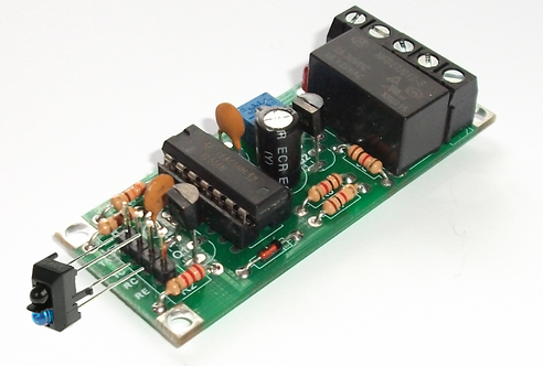 MR208 Infra Red & Timer Board with Block Sensor Head
