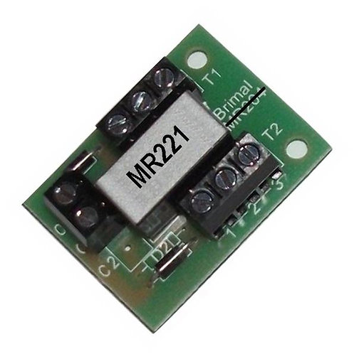 MR221 Dual Changeover Relay Card 2 Amp at 12v DC