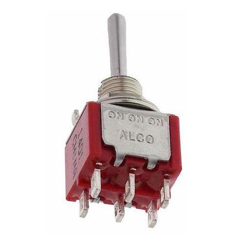 MR313 Mini Toggle Switch ON-ON-ON DPDT