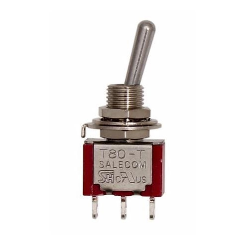 SW304 Mini Toggle Switch On - (On)