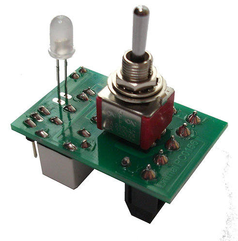 MR322 Coil Point Motor Switch with Indicator & Mimic Display