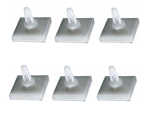 MK130 Self Adhesive Stand Off's 9mm x 6