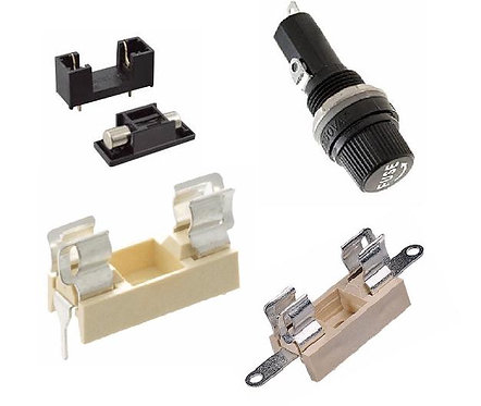 Fuse Holders for 20mm fuses