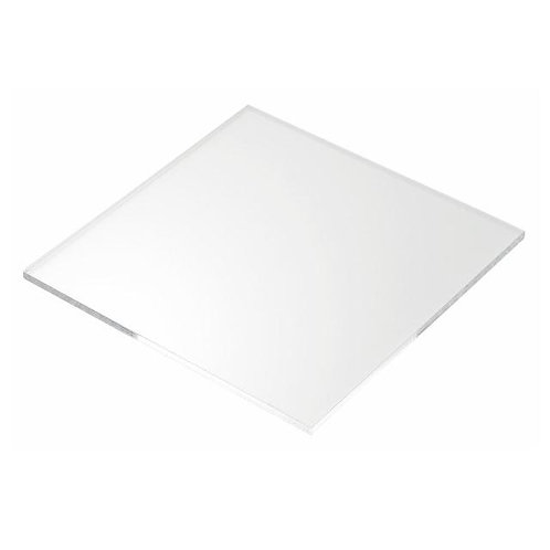 Clear Perspex Sheet 3mm Thick 126 x 210mm