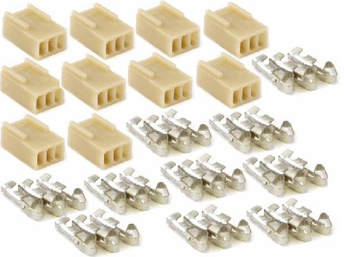 MK142 3 Pin Terminal Kit 2.54 spacing Kit (10 Pack)