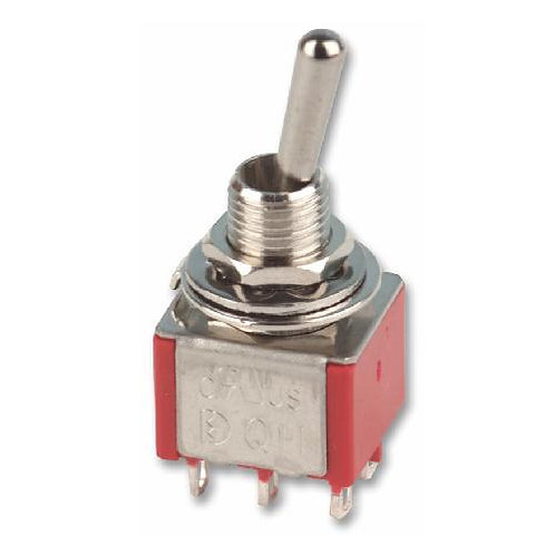 SW315 Mini DPDT Toggle Switch On - Off or On - On