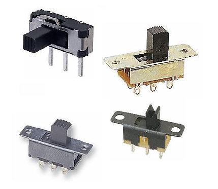 A range of Mini Slide Switches