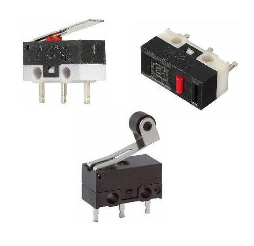 A range of Mini Microswitches