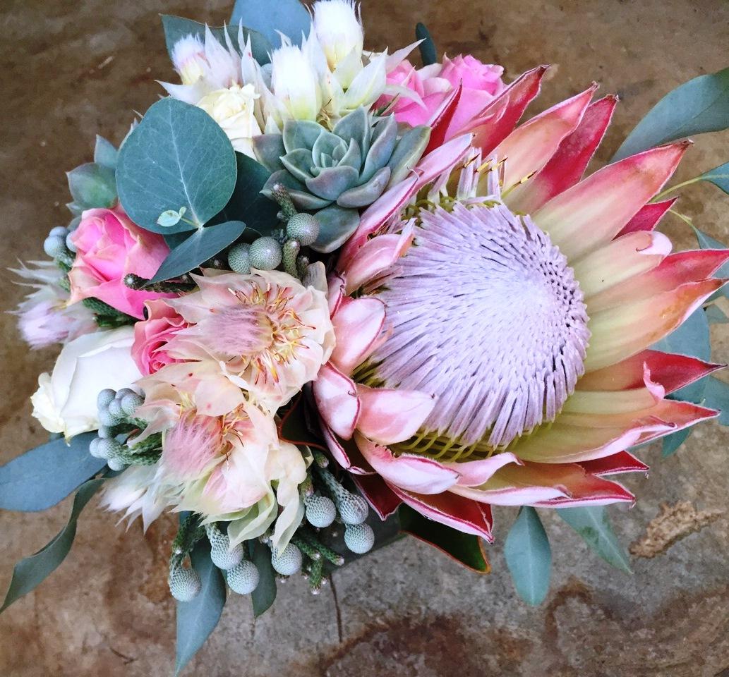A pretty bridal bouquet
