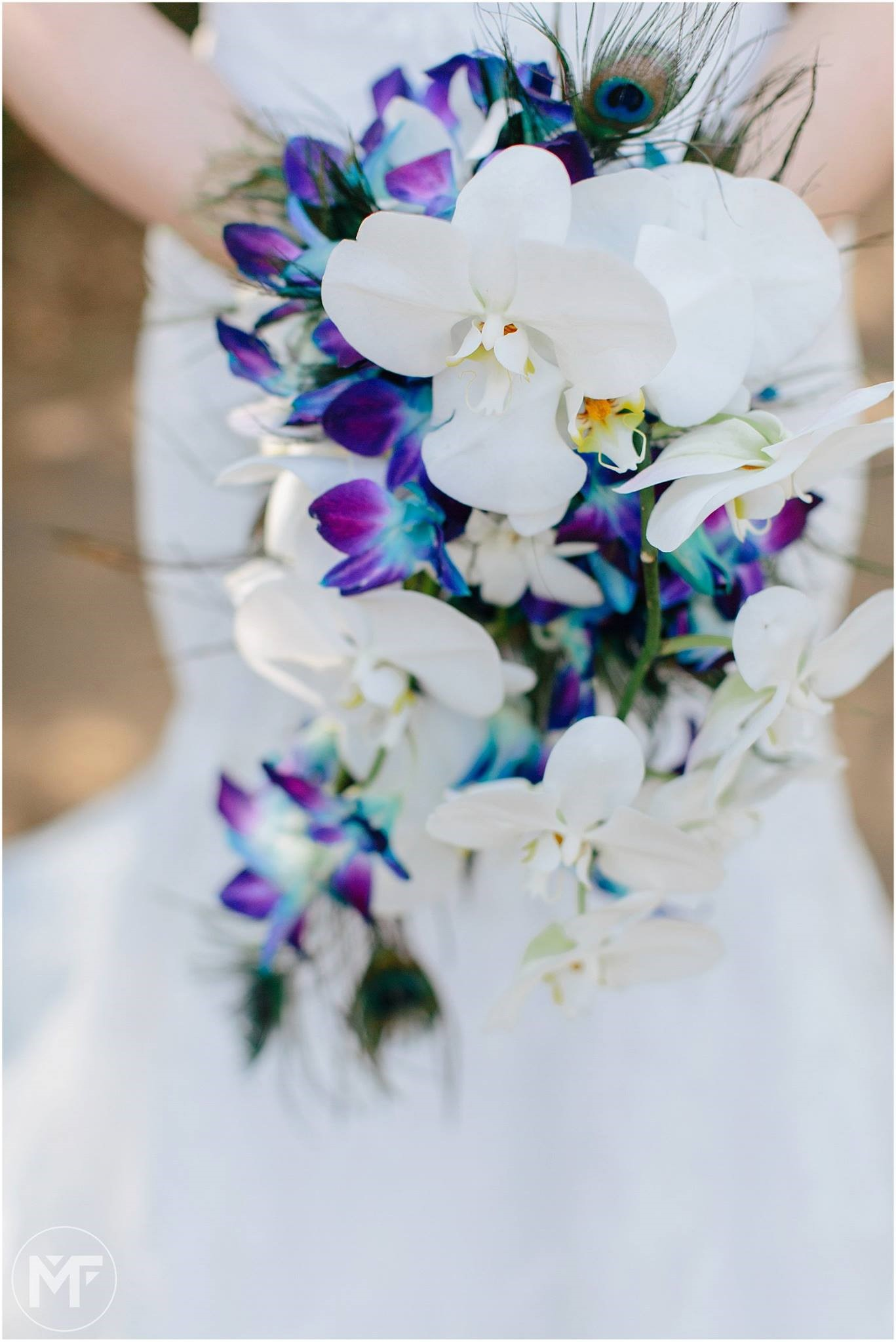 Beautiful orchid bouquet