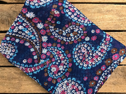 Joy Printed Royal Floral