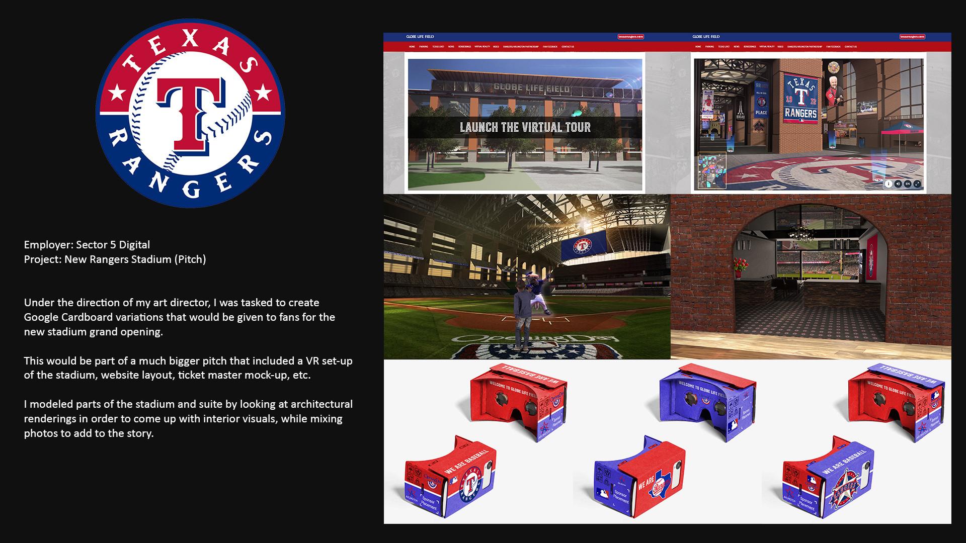 New Ranger Stadium Pitch