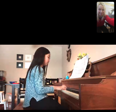 ON-LINE PIANO LESSONS!