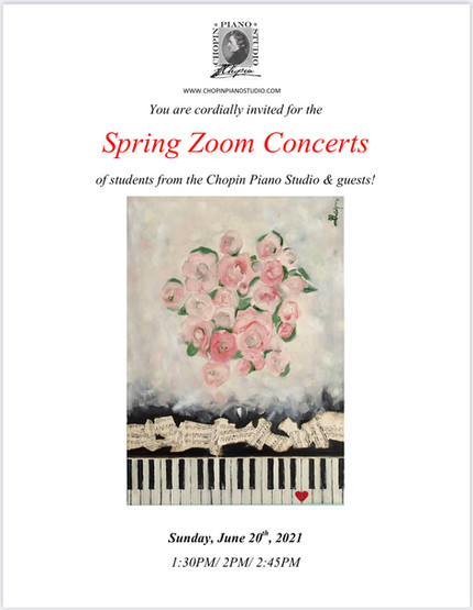 Spring On-line Concert 2021