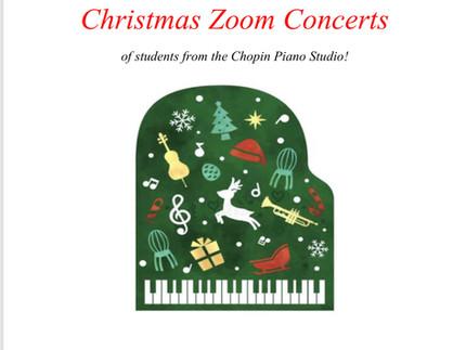 Zoom Christmas Concert
