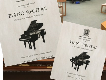 Students Piano Recitals