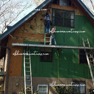 preparing for cedar siding
