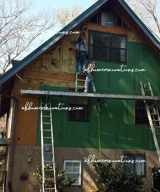 preparing for cedar siding