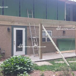 side deck framing