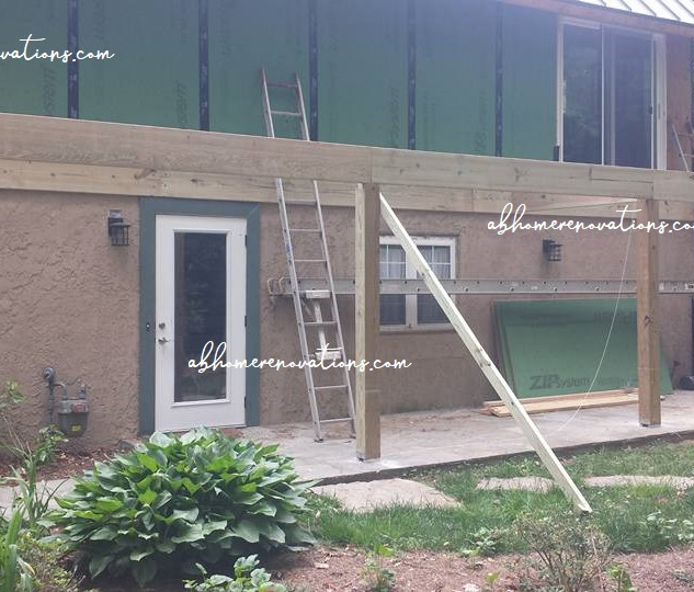 side deck framing