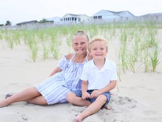 Family Beach Photos in Bethany Beach, DE