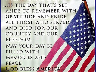 Giving Thanks on Memorial Day