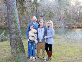 The Walters' Family at Prettyboy Reservoir