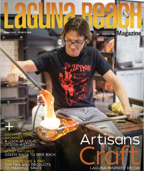 """Tales from Behind the Bar"" Article in Laguna Beach Magazine March 2015"